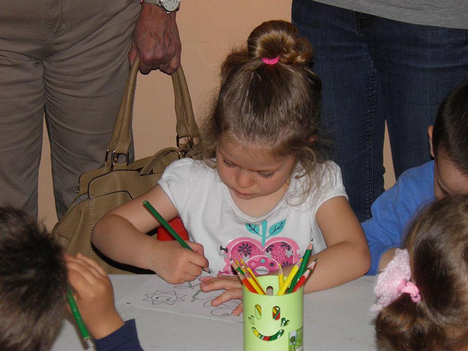 """Галерия - Открит урок пред родителите на децата от I-ва A група """"Детски рай"""""""